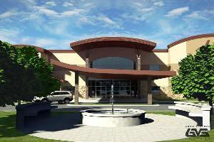 1st Baptist Orange planned new building