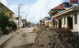 Belize - Dangriga Construction