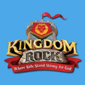 Kingdom Rock Logo Blue Background 300