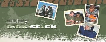 Military Bible Stick collauge