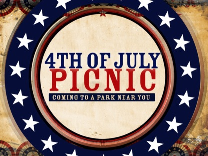 july 4th picnic logo