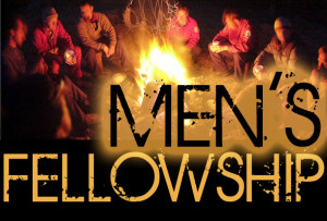 men's fellowship campfire