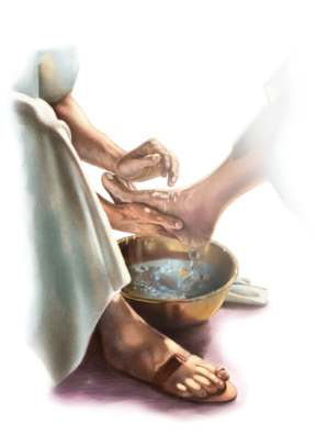 foot washing 1