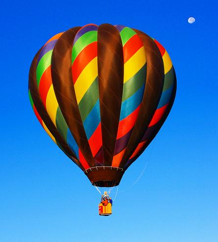 hot air balloon instory
