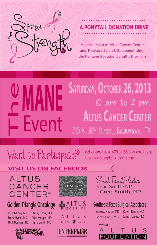strands of strength cancer event beaumont