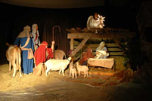 live nativity Beaumont