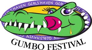 girls haven gumbo festival logo