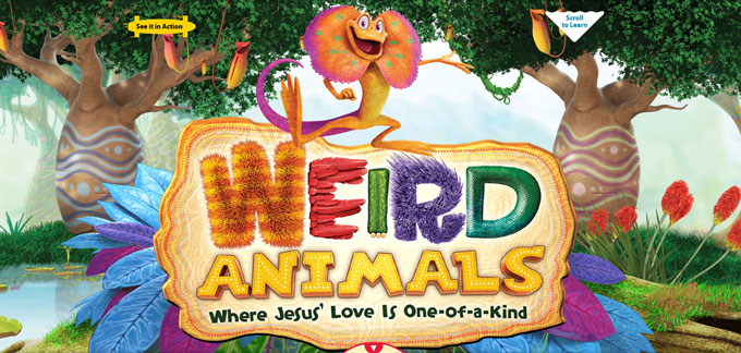 Weird Animals VBS Tyler County Tx