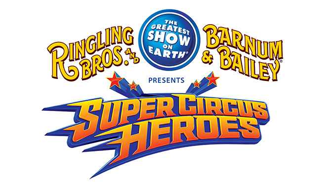 Ringling Brothers Super Circus Heroes 2014