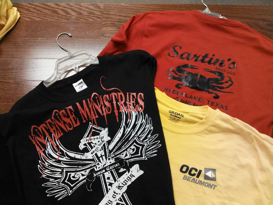 Rad Graphics SETX Ministry T-shirts