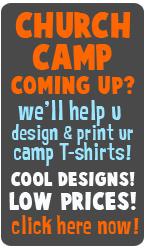 Rad Graphics Port Arthur, Southeast Texas Church Camp T-shirts, Nederland TX banner design, Mid County church T-shirts, Mid County VBS t-shirts, church banner Port Arthur