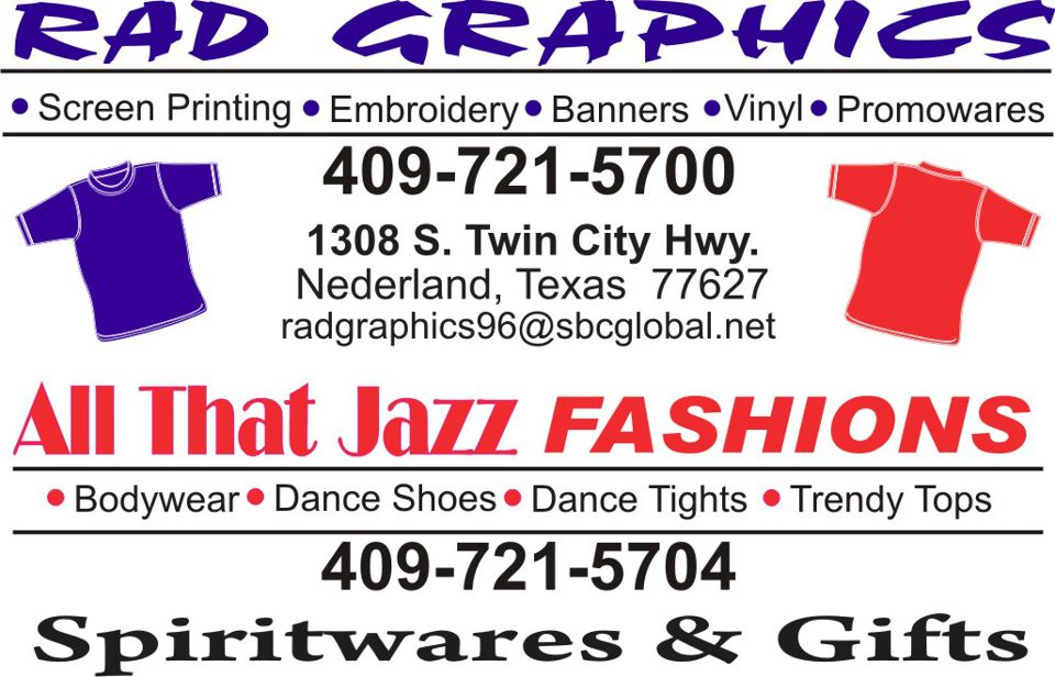 Rad Graphics Southeast Texas screen printing, church banners Mid County, banner design Mid County, vinyl banner Port Arthur