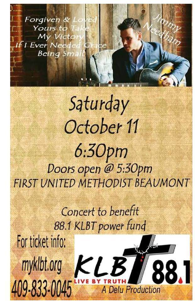 Alex Westbrook SETX Christian Concert Oct 11 2014