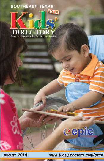 Epic Health SETX Kids Directory Cover August 2014