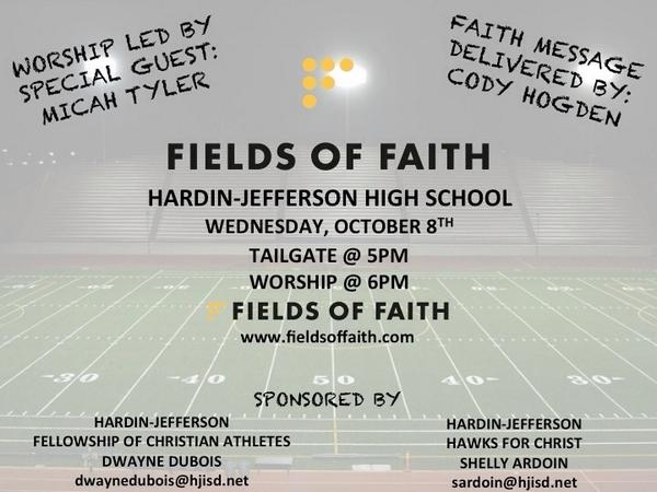 Fields of Faith Micah Tyler Southeast Texas Christian Concert
