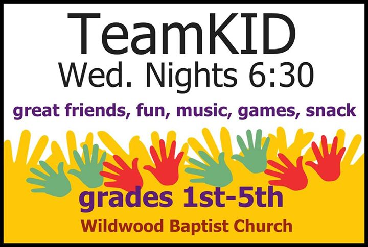 Wildwood Baptist Church Team Kid 2014