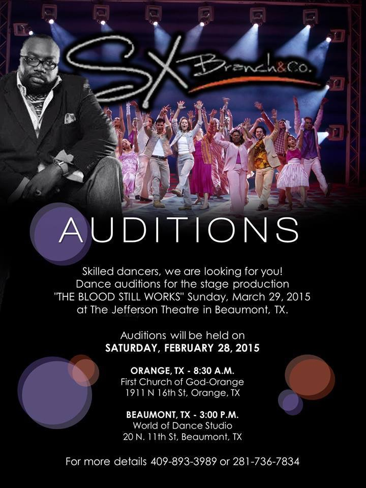 Young Audience Southeast Texas Auditions 2-27-15
