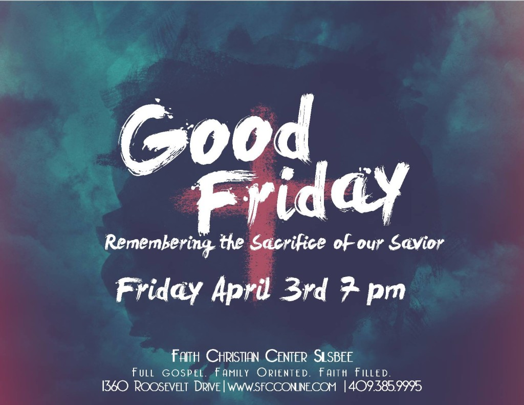 Good Friday Service Silsbee Tx a