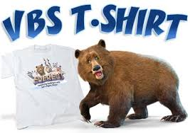 T-shirts for Vacation Bible School Beaumont Tx