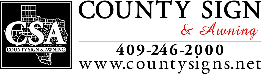County Sign Kountze, Commercial Sign Company SETX, Golden Triangle sign shop, business signs Port Arthur