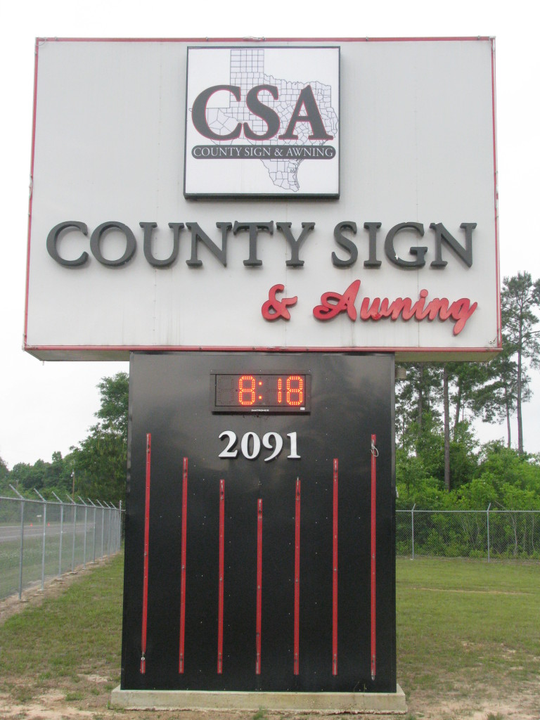 County Sign and Awning, Golden Triangle sign companies, Church sign Orange TX