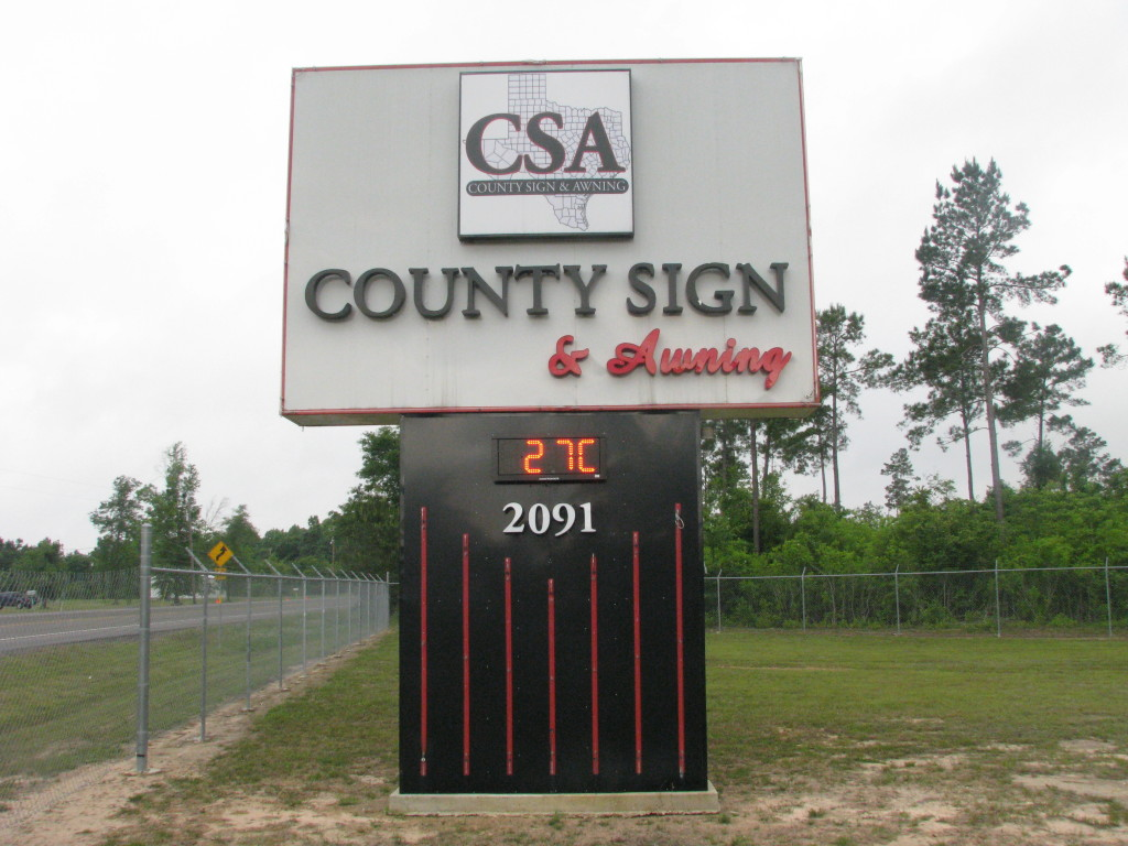 County Sign and Awning SETX digital sign company