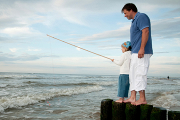 Fishing with kids Sabine Pass