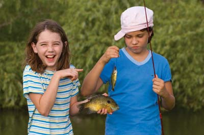 fishing with kids Golden Triangle