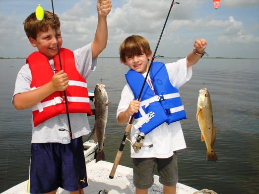 fishing with kids SWLA