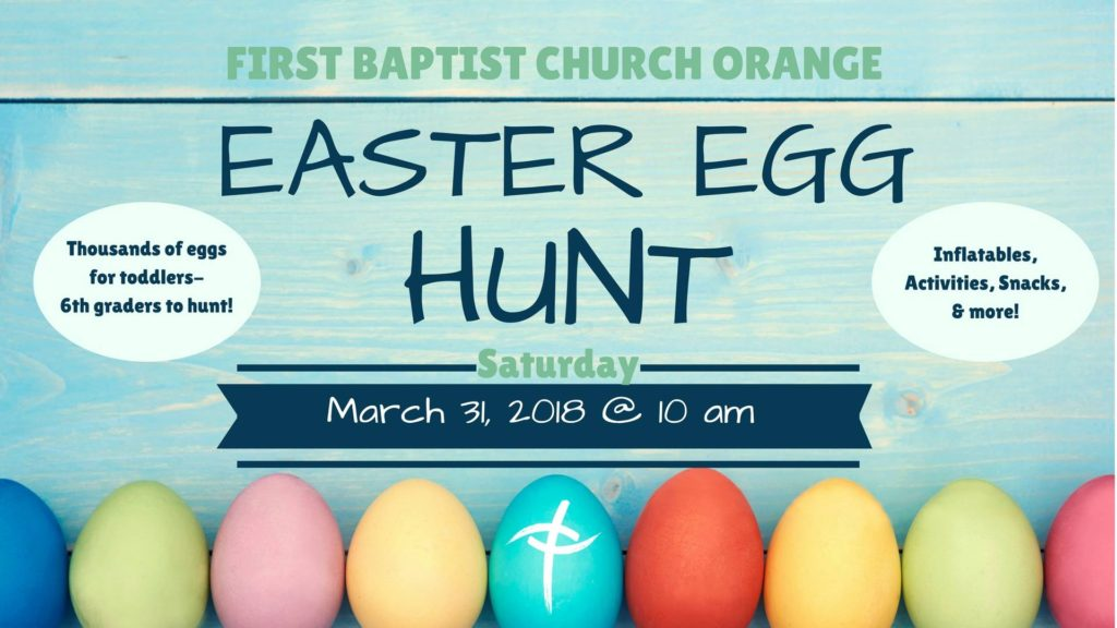 Easter Egg Hunt Orange TX, Easter Orange TX, Easter Service Orange TX, Easter Egg Hunt Southeast Texas, SETX Easter Egg hunt, Easter Golden Triangle TX
