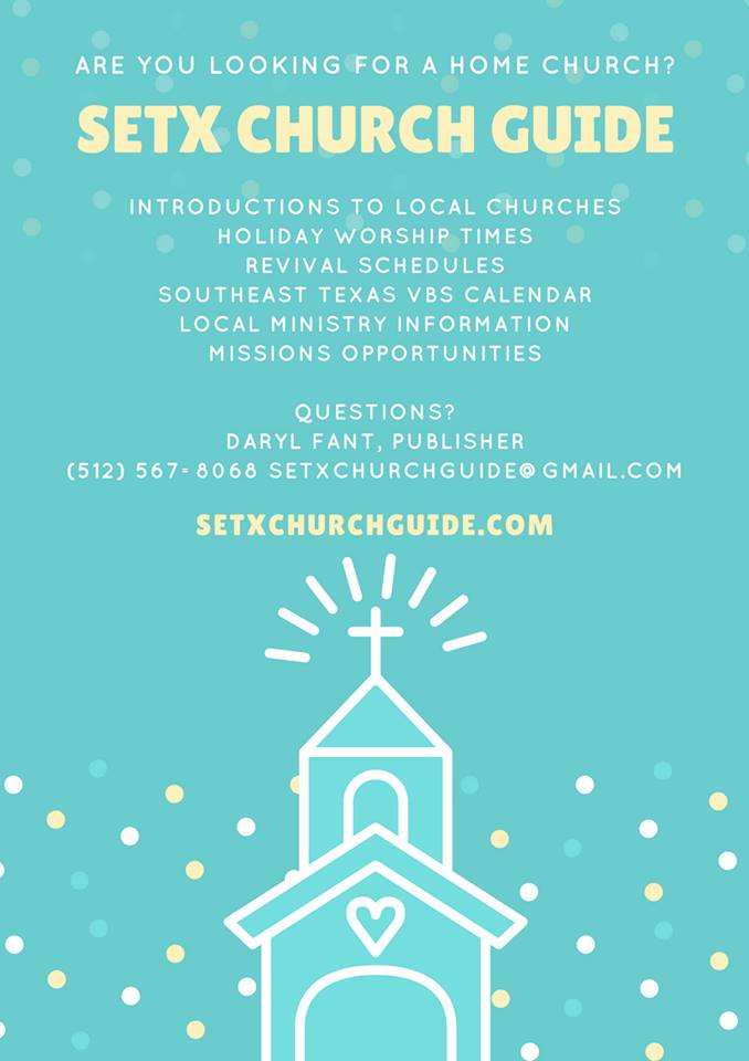 Southeast Texas church directory, finding a church in Beaumont, finding a church in Port Arthur, Christian news Orange TX, church news Jasper TX, church directory East Texas