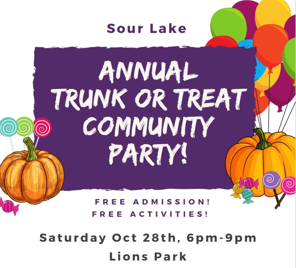Halloween Sour Lake, Trunk or Treat Sour Lake, Sour Lake Chamber of Commerce