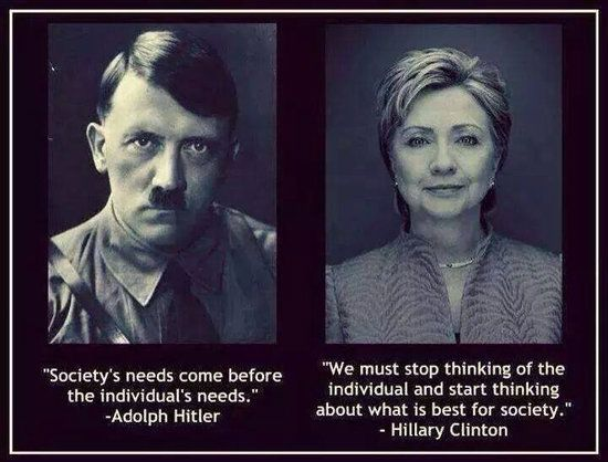 Hitler and Hillary Clinton, Family Bible Study, The First Commandment