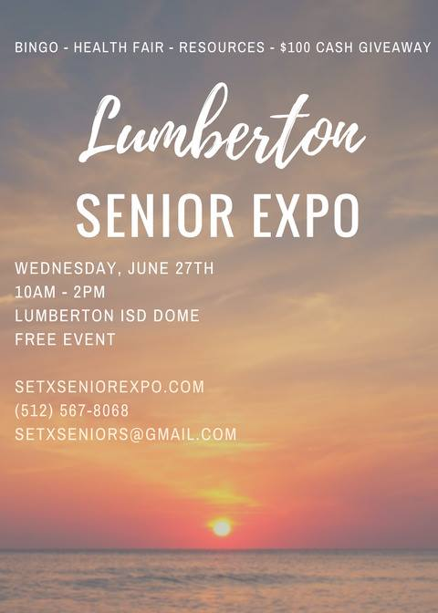 Lumberton Senior Expo, health fair Lumberton TX, 2018 Lumberton Senior Events, Senior Expo Houston, Senior Expo Texas